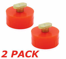 "2X Chevy Corvette C5, C6, and C7 Floor Jack Pad Adapter ""Puck"" Z06 Stingray"