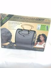 INFINITIPRO BY CONAIR GOLD Soft Bonnet Hair Dryer. Used once.Everything included