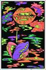 """Drippy Lips by Audrey Herbertson Blacklight Poster - Flocked - 23"""" x 35"""""""