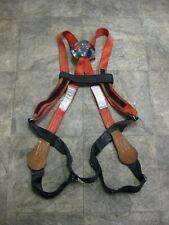 Buckingham 6393700 H-Style Full Body Lineman Safety Harness Size Large Used