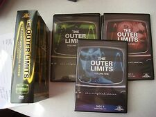 The Outer Limits - The Complete Original Series Vol. 1-3 Box Set DVD 2008 OOP