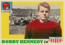 BOBBY KENNEDY 55 ACEO COLLEGE HARVARD ART CARD ##FREE COMBINED SHIPPING##