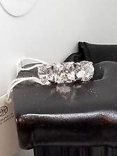 DYRBERG KERN Chunky Ring II Shiny Stainless steel Swarovski BIG BLING NWT