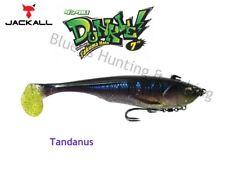 Jackall Dunkle 7'' Big Bait soft plastic Barra, cod fishing lure; Tandanus