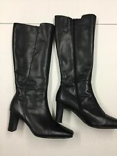 GEORGE ULTA COMFORT SIZE 6 (EU 39) BLACK LADIES LEATHER BOOTS AA8