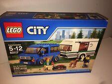 LEGO 60117 CITY Van & Caravan 250pcs New Free Shipping