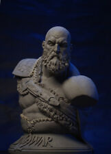 God of War 4 1/3 Scale Aged Kratos Collectibles GK Bust Sculpture