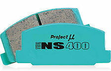 PROJECT MU NS400 for NISSAN 180SX S13 SILVIA SR20 CA18 - REAR BRAKE PADS PAIR