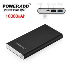 10000mAh Dual USB Power Bank External Battery Portable Charger for iPhone 7/6/5