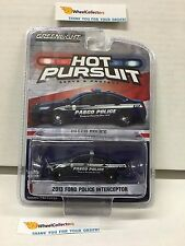 Greenlight * 2013 Ford Police interceptor Pasco * Hot Pursuit * Hobby Only * HB6
