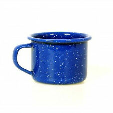 GSI Outdoors 4 oz Enamelware Espresso Mini Coffee Cup Blue, Green, or Red Mug
