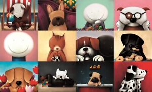 ZOOM PARTY (mounted Only) Timed Limited Edition Print by Doug Hyde