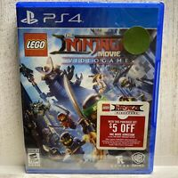 LEGO Ninjago Movie: Playstation 4 [Brand New] PS4 Factory Sealed