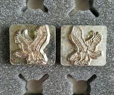3D Craftool Leather Tool Stamp, L&R Attack Eagles, 8369 & 8301