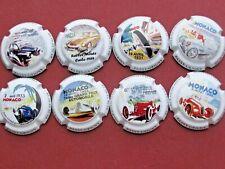 Série de 8 capsule  Gilles ALLAIT, 7ème Grand Prix de Monaco ref.3