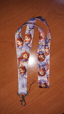 Walt Disney Princess Sofia the First Cell Phone Holder Lanyard and ID Badge Clip