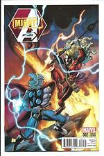 MIGHTY AVENGERS # 2 (BAGLEY 1:20 THOR BATTLE VARIANT, DEC 2013), NM NEW