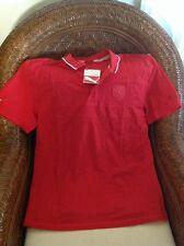 Ferrari scuderia Ferrari puma RED  polo shirt New With  Tags size L men