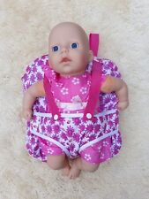 MY FIRST BABY ANNABELL DOLL CARRIER BACKPACK BAG