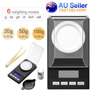 Electronic Digital Pocket Scales High Precision Jewellery Scale Milligram micro