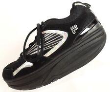 Fila Fit Women's Black Walk N Sculpt Shoes Fitness Toning Sneakers Size 7.5M
