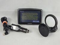 TomTom XL Widescreen 4EM0.001.02 N14644 Portable GPS Navigation Cords Canada 310