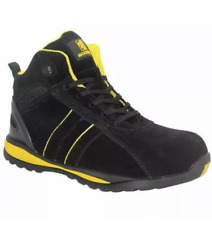 MEN'S COMPOSITE TOE CAP SAFETY WORK LACE UP TRAINERS BOOTS SHOES UK SIZE 3-14