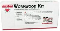 Kroeger Herbs Wormwood Kit 5 Piece Wormwood+Cloves+Black Walnut Parasite Cleanse