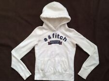 Abercrombie Kids a & fitch Athletic Dept Hoodie Sweatshirt * XL * White * VGC *