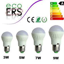 NEW E27 Globe LED Bulb 3W/5W/7W/9W High Power Lamp Light Bulb Cool/Warm White