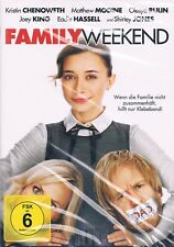 DVD FAMILY WEEKEND Kristin Chenoweth Matthew Modine Olesya Rulin Region 2 NEW