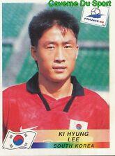 342 KI HYUNG LEE SOUTH KOREA DANONE BACK STICKER WORLD CUP FRANCE 98 PANINI