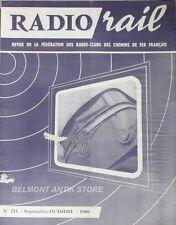 Radio Rail n°211 - 1960 - La télédiffusion - Le téléreportage - Electricité Méca