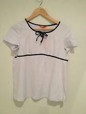 BNWT LADIES MATERNITY White Top Size M