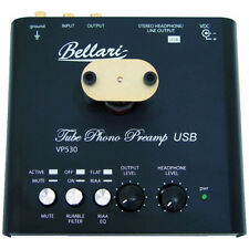 Bellari VP530 Tube Phono Preamp w/Burr-Brown A2D converter/USB out/Headphone Amp