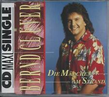 Bernd Clüver - Die Mädchen Am Strand CD MAXI 3TR Schlager 1992 Germany RARE!!