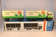 """Lion Car Daf 2800 """"Boekestein"""" truck with trailer 99% mint in box condition"""