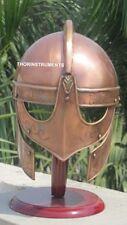 Viking Valasguard Copper Helmet Medieval King Armor Helmet