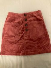 forever 21 Corduroy skirt small Pink
