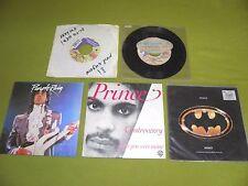 "Prince 5x7"" IMPORTS 45 / Sexy M.F. Alphabet St. Batdance Purple Rain Controversy"