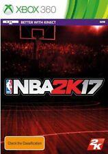 NBA 2k17 Xbox 360 Australian Stock