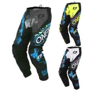 O'Neal Element Villain Mens Off Road Dirt Bike Motocross Pants