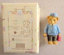 Cherished Teddies Lloyd CT003 Train/Railway Conductor Teddy Bear Figurine