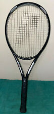 "Prince O3 Silver Triple Thread Titanium Tungsten Oversize 4"" Tennis Racquet"