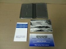 2000 Jeep Cherokee XJ Owner's Manual Books