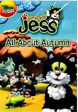 NEW   DVD // TREEHOUSE // GUESS WITH  JESS --  ALL ABOUT AUTUMN // 66mn