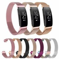 Replacement Stainless Steel Milanese Band Wristband Strap For Fitbit Inspire HR