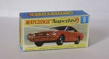 Repro Box Matchbox Superfast Nr. 8  Ford Mustang