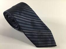 CK Calvin Klein Men's Neck Tie Silk New Necktie NWOT Neckwear Blue Striped
