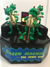 Green Machine The Frog Band Vtg 1989 Metro Toys for parts Or repair Lights Work
